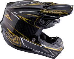 troy lee motocross gear 2017 troy lee designs se4 carbon pinstripe helmet motocross