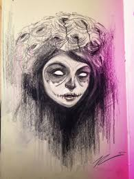 the sketch shack day of the dead gurl
