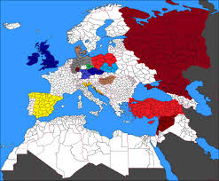 A Map Of Europe Brikwars Forums U2022 View Topic Map Of Europe With Bw Factions