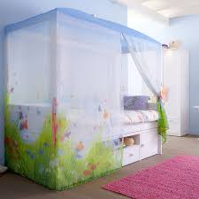 marvelous canopy bed curtains for kids images design ideas tikspor cool cube kids bed with canopy garden butterfly theme
