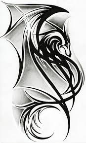 tatoo design tribal tribal dragon tattoo designs best tattoo art design tattoos