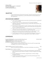 poor resume examples technical writer cover letter entry