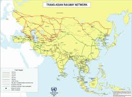 Usa Rail Network Map by China Continues Building The Pan Asian High Speed Railway Network