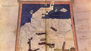 germania map mapping ancient germania berlin researchers the ptolemy