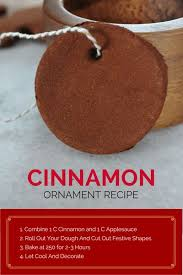 cinnamon ornaments recipe cinnamon ornaments ornament and holidays