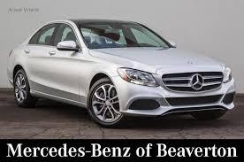 mercedes portland or 2017 mercedes c class sedan iridium silverfor sale near