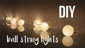 DIY Ball String Lights roomdecor