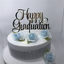 graduation cake toppers free shipping happy graduation cake topper decoration white black