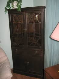 furniture dining room china cabinet hutch and wooden corner china