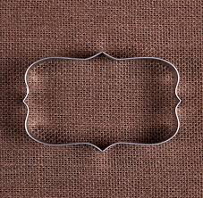 wedding cookie cutters plaque rectangle cookie cutter plaque cookie cutter wedding