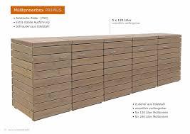 Werkzeugschrank Arbeitstisch Kombi Bauanleitung Zum 5er Mülltonnenbox Aus Fsc Holz 5 X 120 Liter Müllbox Zedernholz
