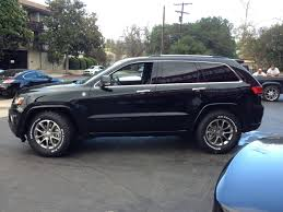 green jeep grand cherokee 2014 black forest green overland with bfg u0027s jeep garage jeep forum