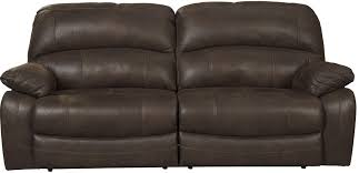ashley furniture home theater seating zavier truffle 2 seat power reclining sofa from ashley 4290147