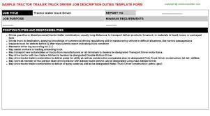 duties of a truck driver essay home health aide resume objective