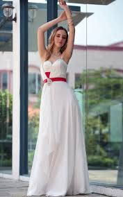 Red And White Wedding Dresses Red And White Wedding Dresses 2013 Modern Fashion Styles