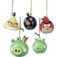 angry birds pack mini ornament set wizappo us
