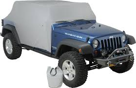 Jeep Wrangler Waterproof Interior Rampage Products 1164 Waterproof Cab Cover For 07 17 Jeep