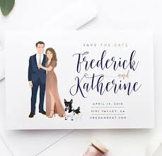 save the date designs illustrated save the dates save the date cards