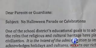 cancels halloween for religious reasons district says it u0027s