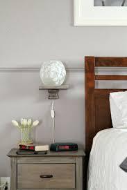 Lamp For Nightstand Remodelaholic Easy Floating Bedside Shelf Tutorial
