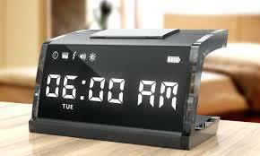 cool nightstand clocks medium size of old style alarm clock fancy