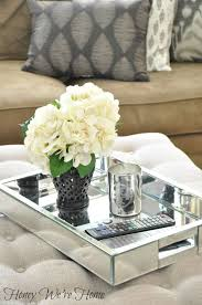 Glass Coffee Table Decor Best 25 Coffee Table Tray Ideas On Pinterest Wooden Table Box