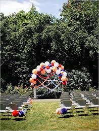 How To Decorate A Backyard Wedding Of Amazing Backyard Wedding Ceremony Decor Ideas 3