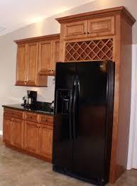 wine rack cabinet over refrigerator wine rack over fridge kitchen pinterest wine rack