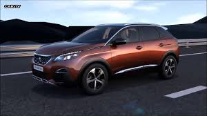 peugeot 3008 2017 2017 peugeot 3008 interior video dailymotion