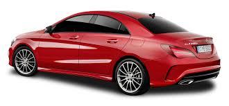mercedes png mercedes benz cla red car png image pngpix
