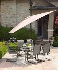 Patio Furniture Dining Sets With Umbrella - patio dining sets on patio umbrella for great walmart patio tables