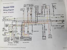 suzuki fz50 wiring diagram suzuki wiring diagrams instruction