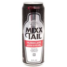 how much alcohol does bud light have bud light mixx tail hurricane premium hurricane cocktail 25oz