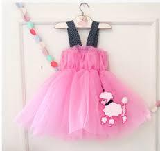 korean new trend fashion baby girls nice net bubble dress china