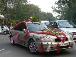 decorated indian wedding car not quite same as a decor u2026 flickr