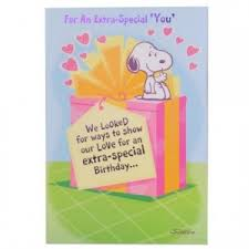 great happy birthday snoopy greeting online shopping india