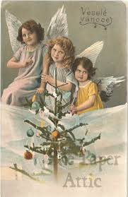 66 best christmas cards old images on pinterest vintage