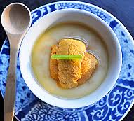 abe cuisine uni chawanmushi chef hiroki abe cuisine japanese restaurant en
