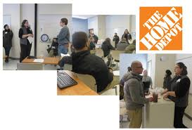 home depot design center jobs home depot presents customer service principles to job corps