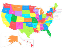 map of usa states and capitals and major cities united states capitals quiz printable search school map