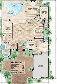 plan 66325we 4 bed stunner with outdoor living outdoor living
