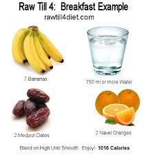 raw till 4 raw till 4 is a vegan lifestyle heavy on fruit and