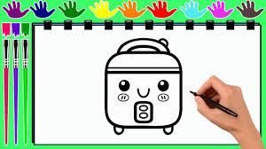 coloring pages food processor drawing pages to color for kids by