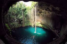 ik ik kil cenote sink hole in mexico thousand wonders