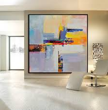 abstract handmade painting modern contemporary handmade large contemporary canvas painting original