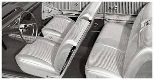 Chevy Nova Interior Kits 1964 Chevrolet Impala Parts Interior Soft Goods Seat
