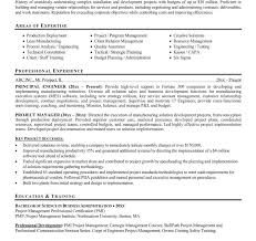 Project Manager Resume Examples by Ingenious Inspiration Project Manager Resume Example 12 Format
