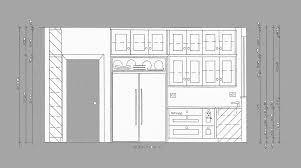 kitchen design template with modern space saving design kitchen