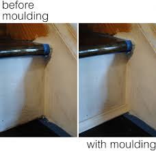 Stair Moulding Ideas by My Staircase Is Finished Jenna Burger