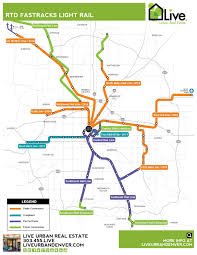 Valley Metro Light Rail Map by Denver Neighborhood Map L Find Your Way Around Denver L